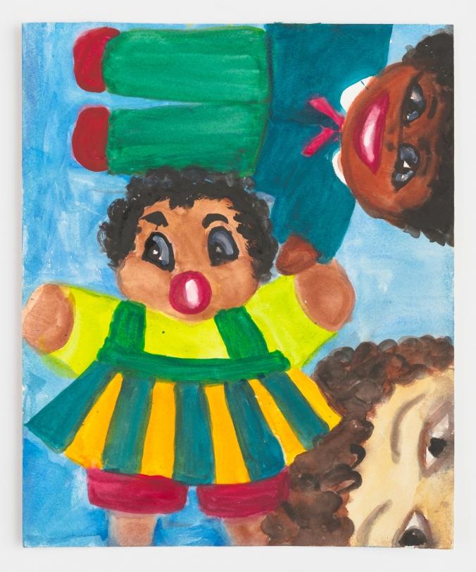 Betye Saar Lookin' at 2 Dolls, 2021