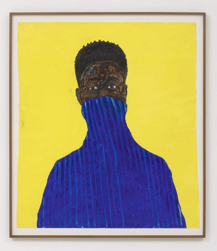 Amoako Boafo Blue Pullover, 2018