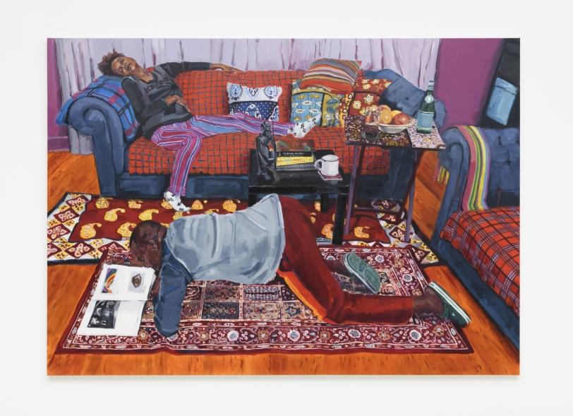 Wangari Mathenge, The Ascendants VII (The Living Room), 2020