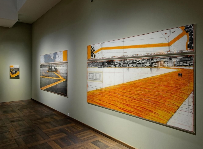 CHRISTO & JEANNE-CLAUDE: WORKS IN PROGRESS