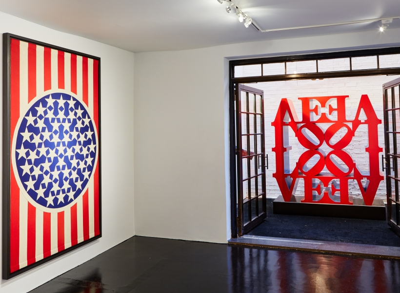 Love Is in the Air –Robert Indiana