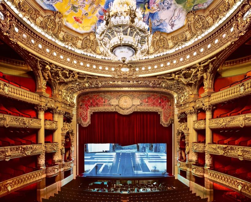 Ahmet Ertuğ - Palais Garnier Stage, Paris, 2009 Chromogenic print ; Bruce Silverstein Gallery