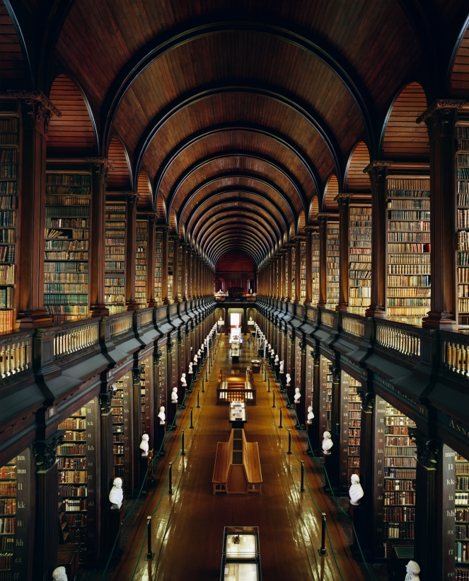 Ahmet Ertuğ - Trinity College Library, Dublin, 2008 Chromogenic print ; Bruce Silverstein Gallery