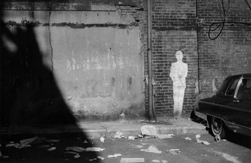 Louis Draper ; Painted Man Graffiti, New York, 1984 ; Bruce Silverstein Gallery