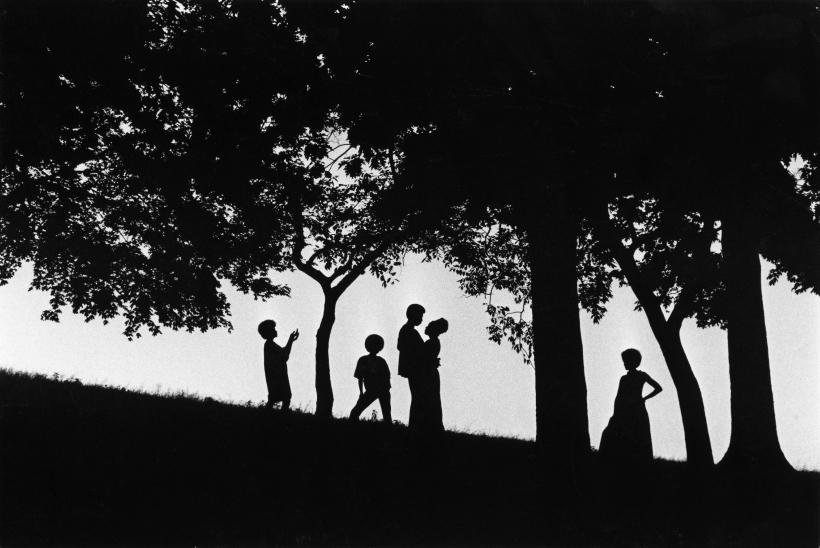 Chester Higgins - Five Points, Fort Greene Park, Brooklyn, 1972  | Bruce Silverstein Gallery