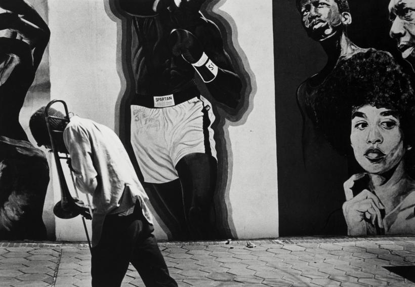 Louis Draper ; Trombonist, Atlanta, 1995 ; Bruce Silverstein Gallery