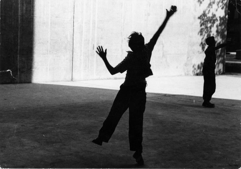 Louis Draper ; Untitled (Handball), New York, c. 1965 ; Bruce Silverstein Gallery