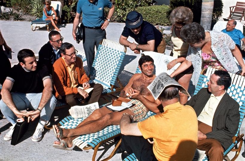 Walter Iooss, Jr. - Joe Namath, Fort Lauderdale, FL, 1969  | Bruce Silverstein Gallery