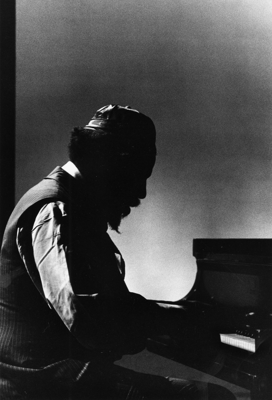 Chester Higgins - Thelonious Monk, New York, 1973  | Bruce Silverstein Gallery