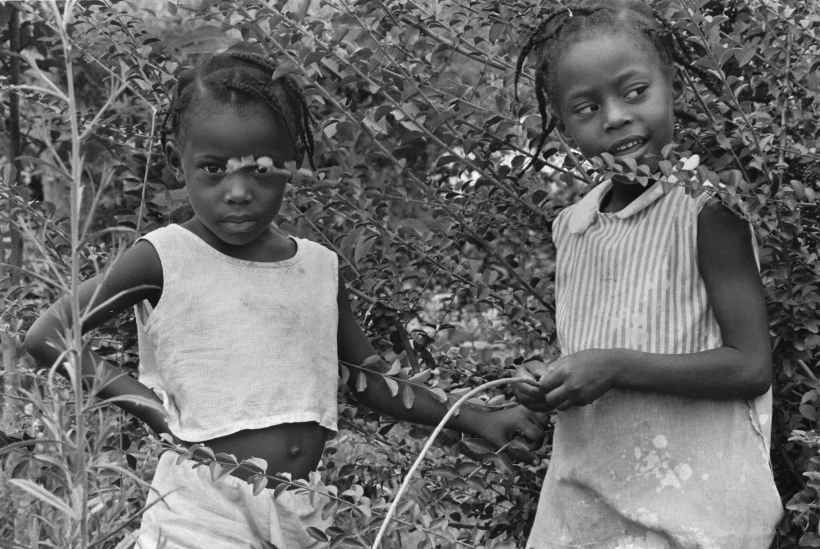 Chester Higgins - Sisters, Macon County, Alabama, 1968  | Bruce Silverstein Gallery