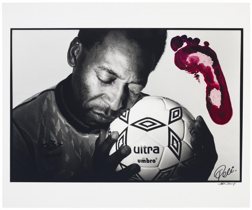 Walter Iooss, Jr. - Pele, New York, NY, 1989/2000 | Bruce Silverstein Gallery
