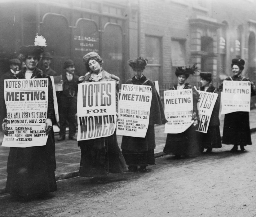 Lesson Two:  Women's Suffrage