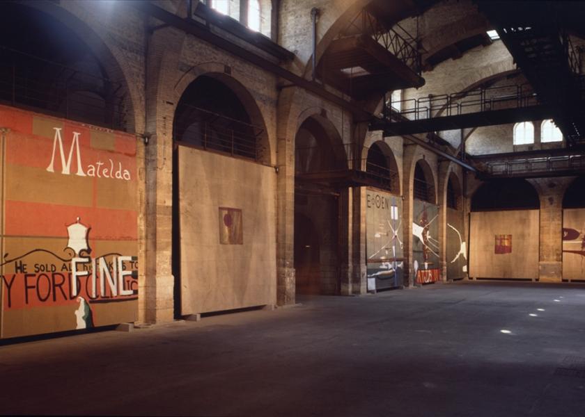 CAPC Musee D'Art Contemporain, Bordeaux, 1989
