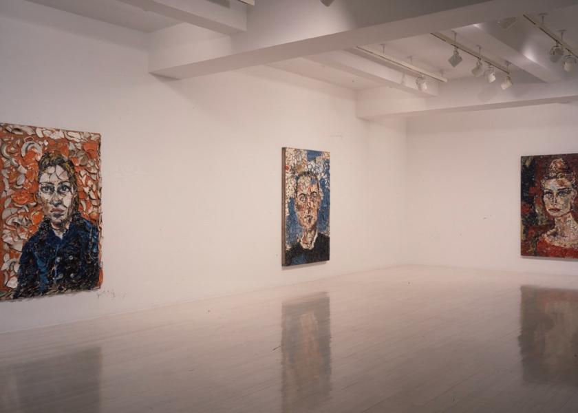 Plate Paintings, Portraits, PaceWildenstein, New York, 1999