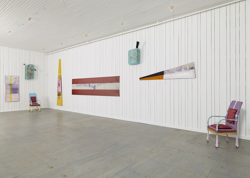 Flag Painting, Karma, New York, 2014