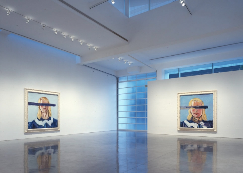 Big Girl Paintings, Gagosian Gallery, Beverly Hills, 2002