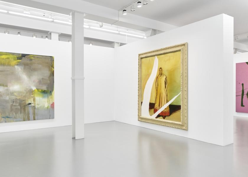 Albert Oehlen | Julian Schnabel, Galerie Max Hetzler, Berlin, 2018