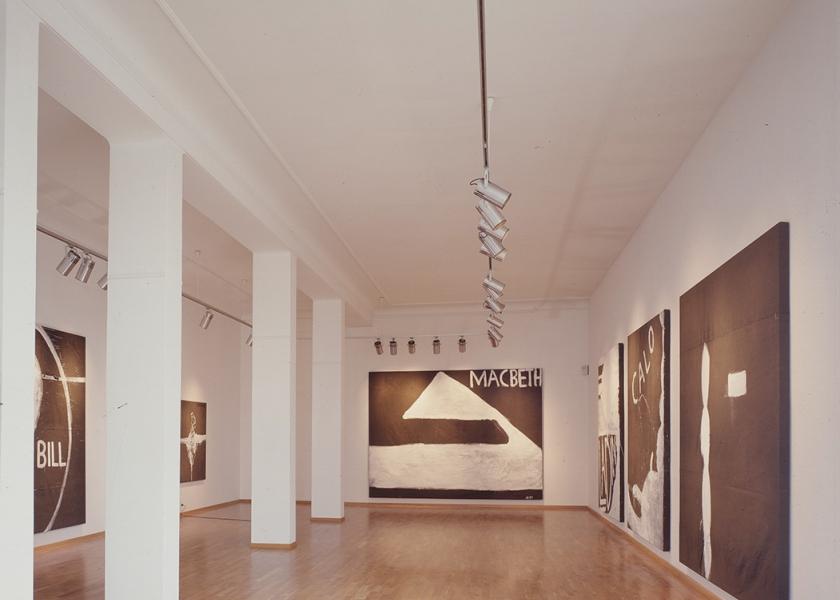 Galerie Bruno Bischofberger, Zurich, 1988