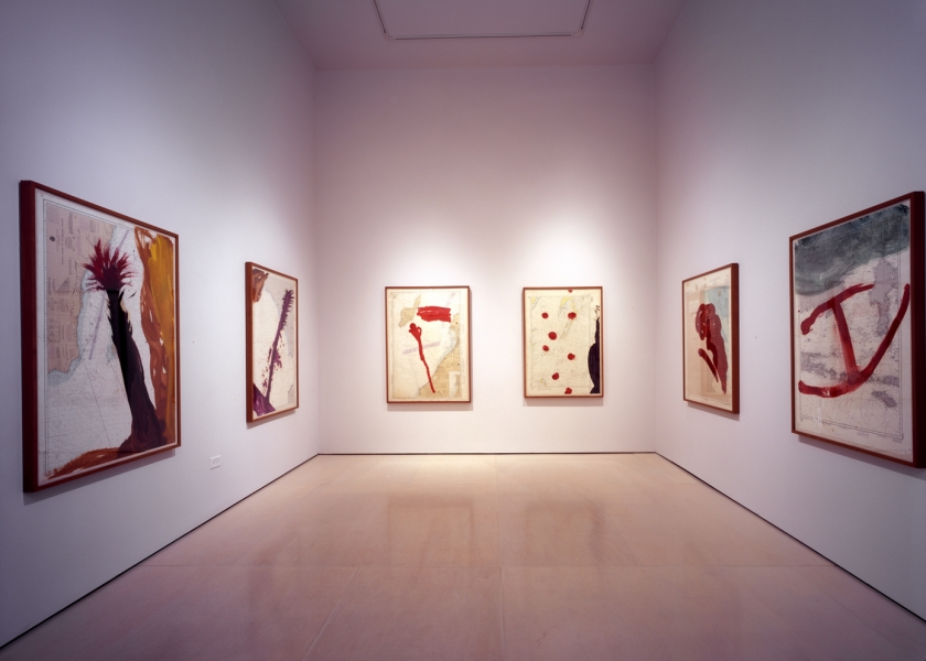 Works on Paper, McClain Gallery, Houston, 2007