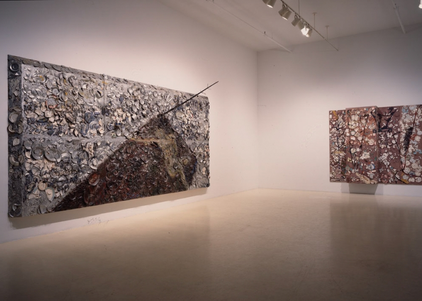 Plate Paintings, Large Format, Pace Gallery, New York, 1999