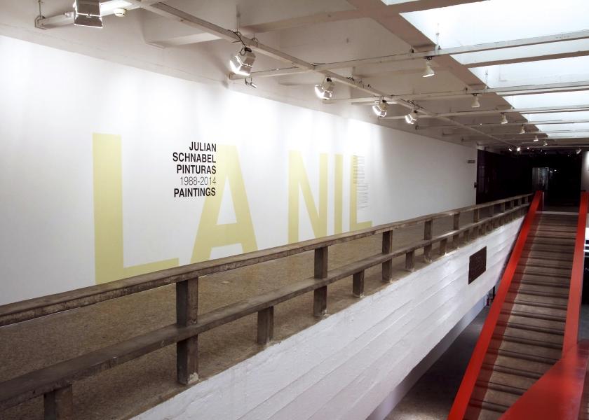 La Nil - Pinturas 1988–2014, MASP, São Paulo, 2014
