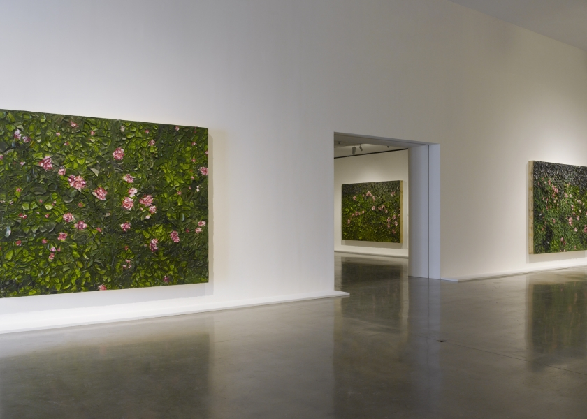 New Plate Paintings, Pace Gallery, New York, 2017