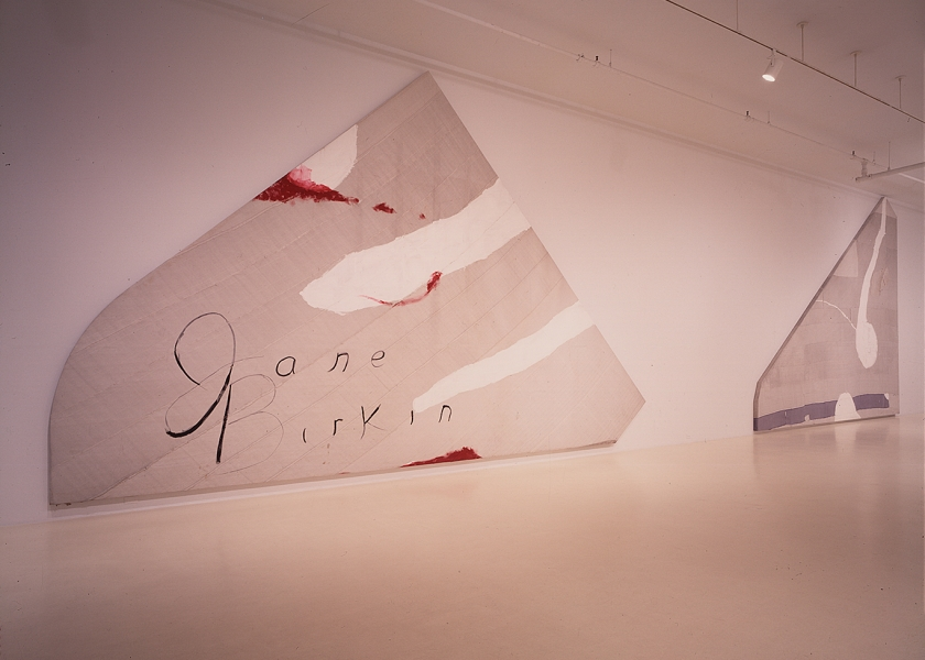Jane Birkin Paintings, PaceWildenstein Gallery, New York, 1994