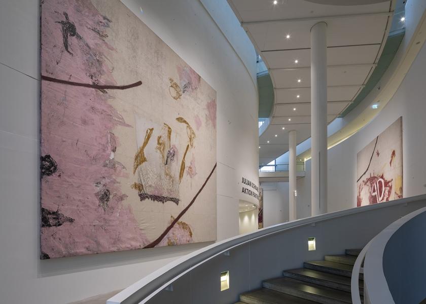 Aktion Paintings 1985-2017, ARoS Aarhus Art Museum, Aarhus, 2018