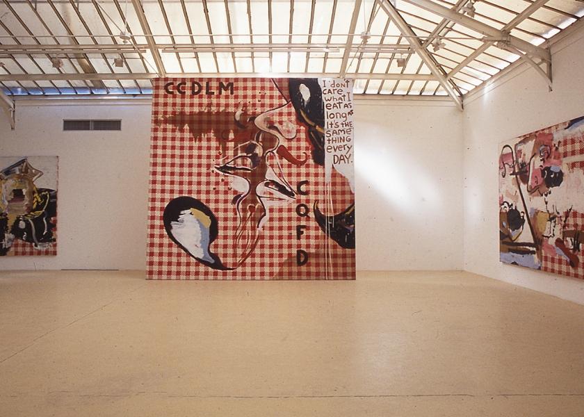 Tati Paintings, Yvon Lambert Gallery, Paris, 1990