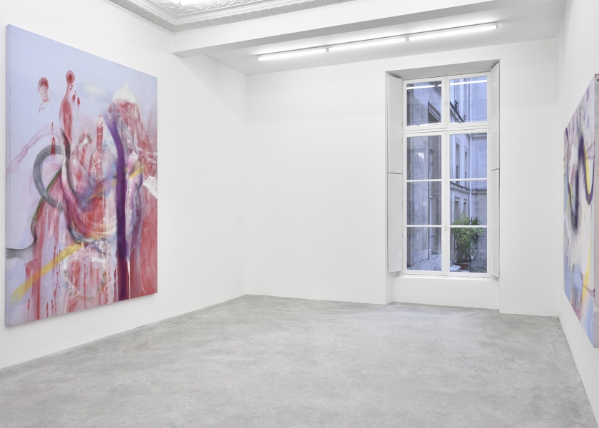 Jack Climbed Up the Beanstalk to the Sky of Illimitableness Where Everything Went Backwards, Almine Rech Gallery, Paris, 2015