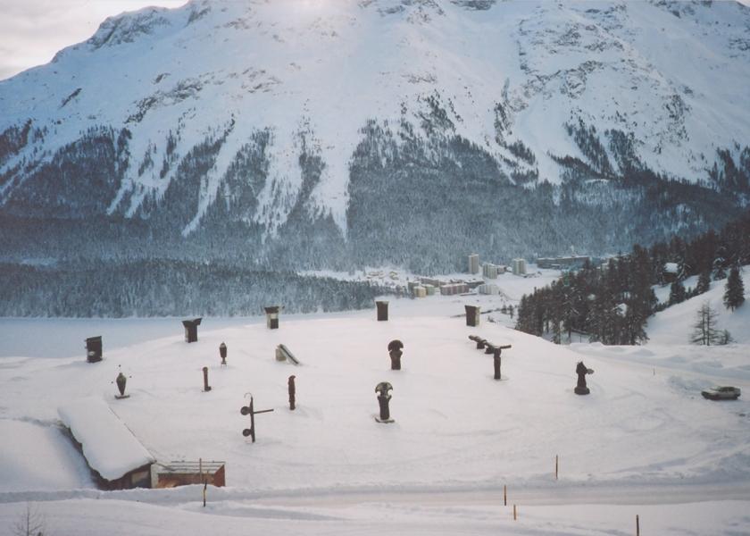 Galerie Bruno Bischofberger, St. Moritz, 1990