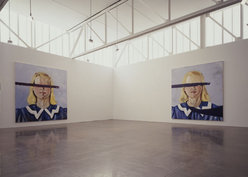 Big Girl Paintings, Gagosian Gallery, New York, 2002