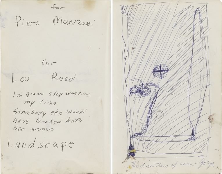 Untitled (For Lou Reed)