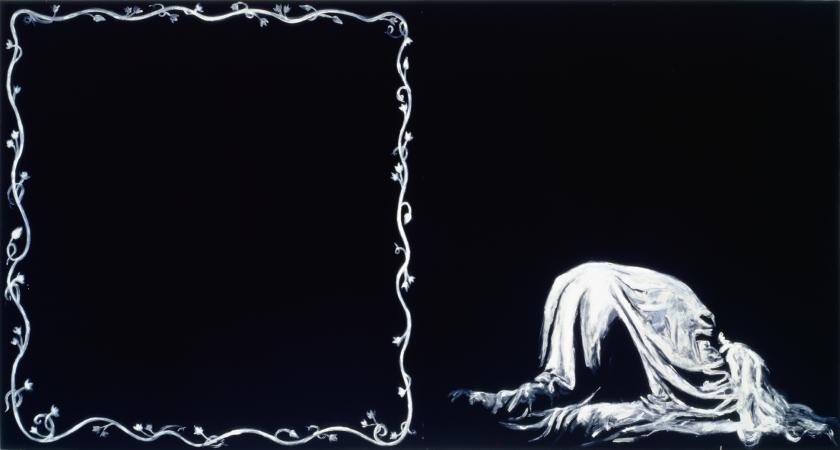 Ornamental Despair (Painting for Ian Curtis)