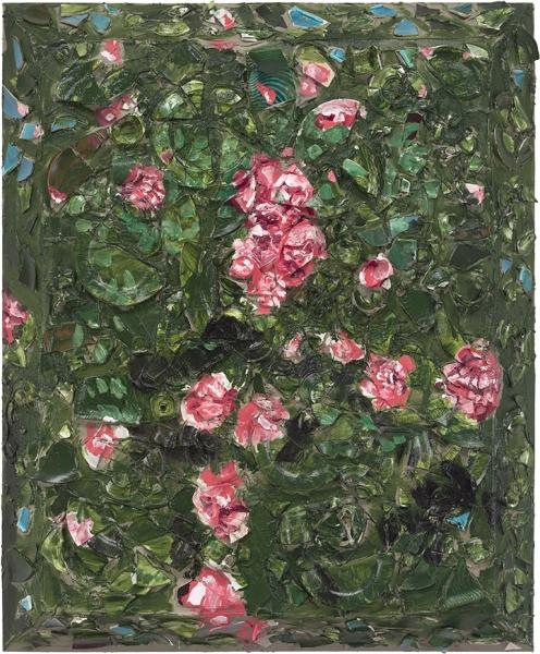 Rose Painting (Near Van Gogh's Grave) IV