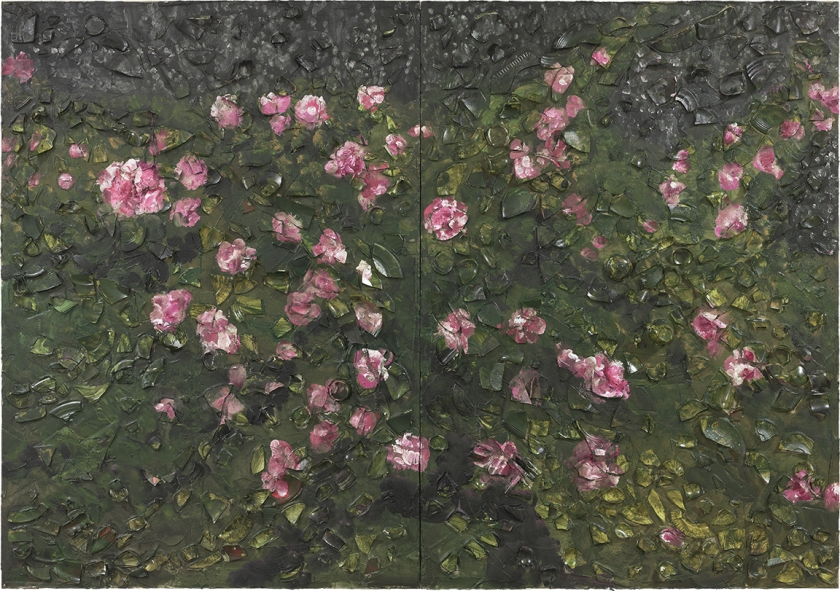 Rose Painting (Near Van Gogh's Grave) XIX