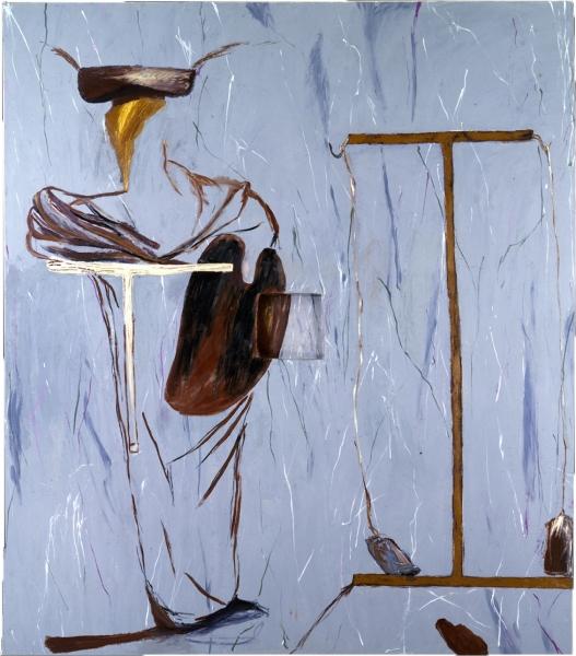 Painting for the Salvation of Ross Bleckner's Leg