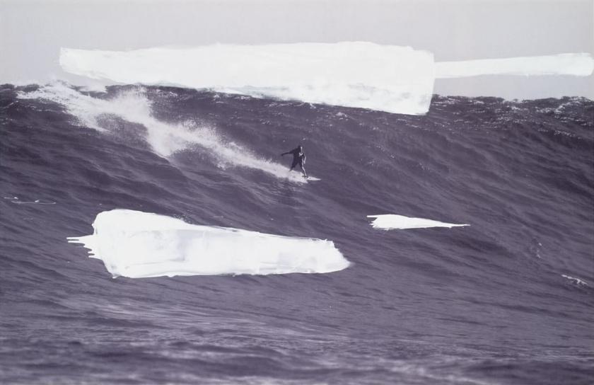 Untitled (Surfer)