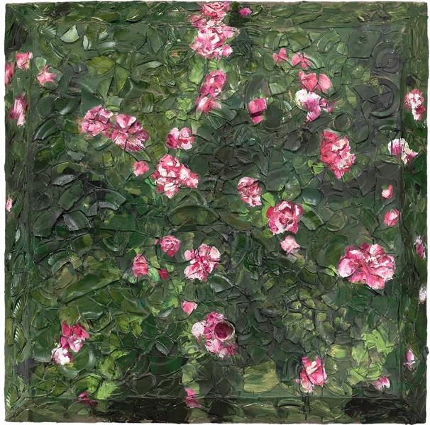 Rose Painting (Near Van Gogh's Grave) XIV