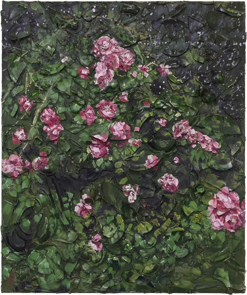 Rose Painting (Near Van Gogh's Grave) VII