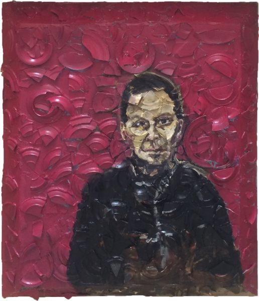 Untitled (Portrait of Azzedine Alaia)