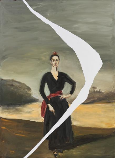 Portrait of Tatiana Lisovskaia As The Duquesa De Alba II