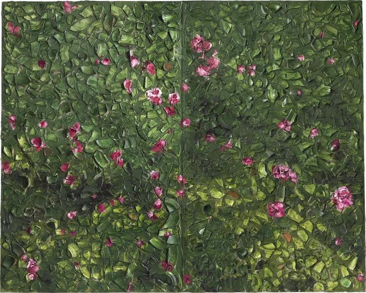 Rose Painting (Near Van Gogh's Grave) XIII