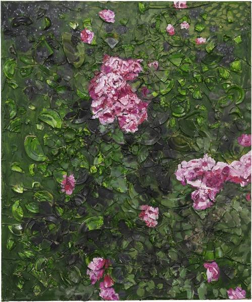 Rose Painting (Near Van Gogh's Grave) VIII