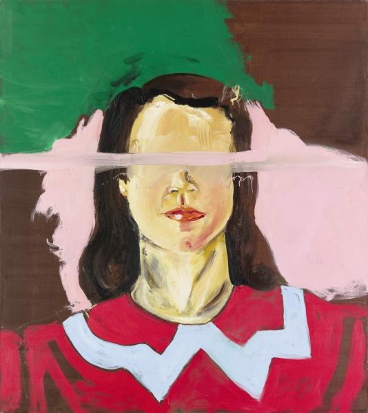 Untitled (Large Girl with No Eyes)