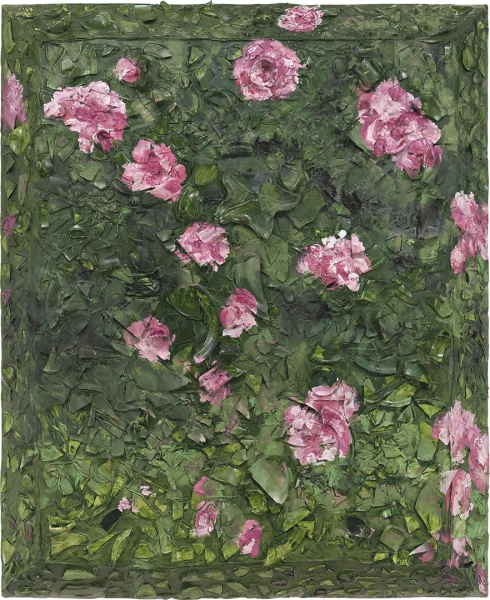 Rose Painting (Near Van Gogh's Grave) XVI