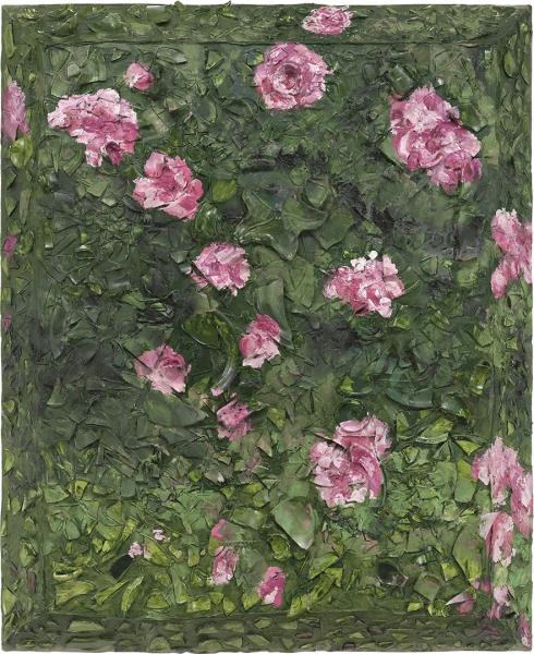 Rose Painting (Near Van Gogh's Grave) XVI