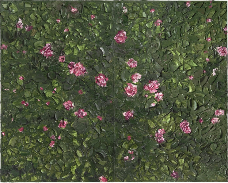 Rose Painting (Near Van Gogh's Grave) XII