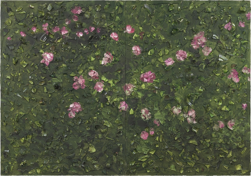 Rose Painting (Near Van Gogh's Grave) XX
