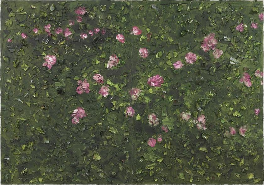 Rose Painting (Near Van Gogh's Grave) XX